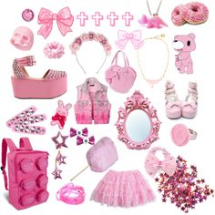 """""""Pink"""" by twisted-candy on Polyvore"""