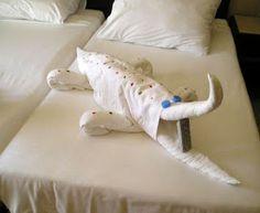 Piegare Gli Asciugamani A Forma Di Animale : Fantastiche immagini in asciugamano per animali su