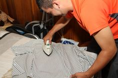 Are you still using the traditional iron for clothes? If so, then you should consider upgrading to the steam ones. Best Steam Iron, How To Iron Clothes, Home Inc, Wrinkle Remover, Clothing Hacks, Going To Work, Cool Outfits, Mens Fashion, Guys