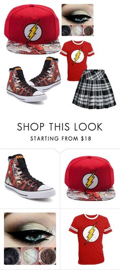 """Flash"" by itasecret27 ❤ liked on Polyvore featuring Converse"