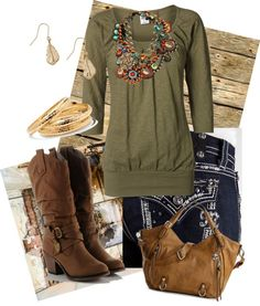 """country fashion"" by lauren-burkhart on Polyvore"