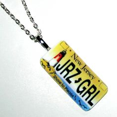 Fun Jersey Girl New Jersey Shore License Plate by GarbageEve, $12.00