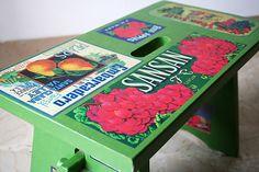 Fantastiche immagini su restauro creativo decoupage green e