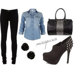 I love this outfit for girls night out or a date