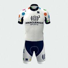 Completo Ciclismo Anaclerico Sport BodyFit Pro Team - Euro 99 | Anaclerico Sport