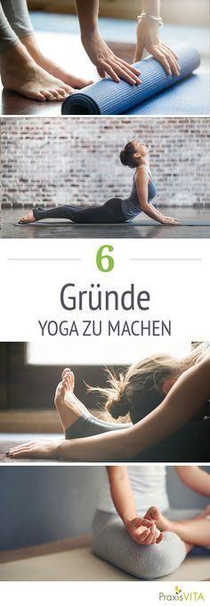Yoga macht flexibel, ausgeglichen und gesund.