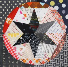 Busy Bees scrappy block for Penny by Lynne @ Lilys Quilts