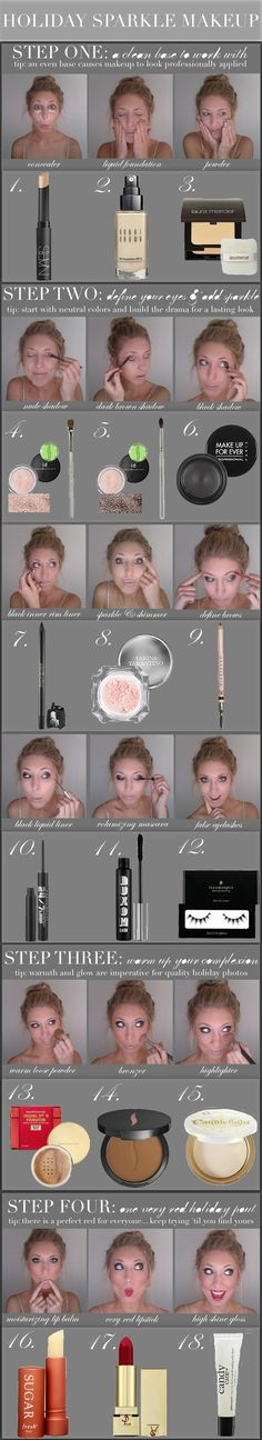 #Makeup How To - basics to know for later!