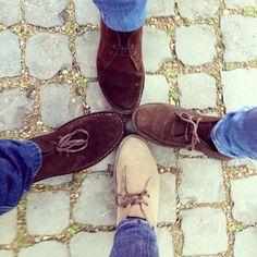 Four versions | Clarks Desert Boots