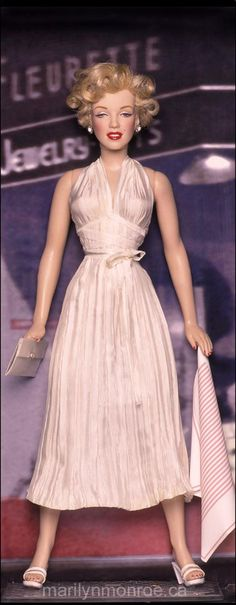 Image detail for -Marilyn Monroe Custom Dolls by Kim Goodwin
