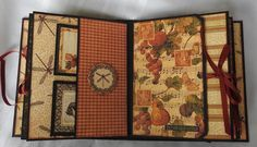 Clare Charvill Organiser w Graphic 45's Botanicabella pt12