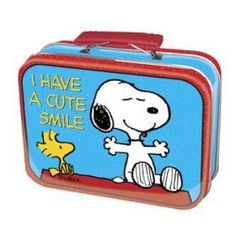 Snoopy Cute Smile Tin