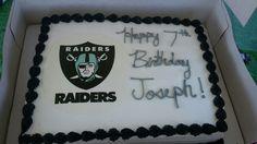Jojos Raiders Cake