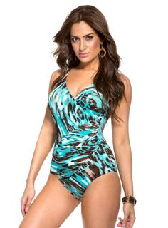 2affd3fc91 Miraclesuit Animal Style Oceanus Swimsuit
