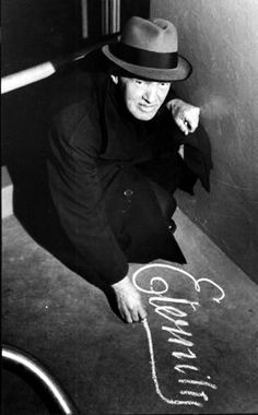 Arthur Stace wrote eternity in chalk on Sydney pavements at least 50 times a day for 30 years!