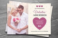 Valentines Day Mini Session-V191 by Template Shop on @creativemarket