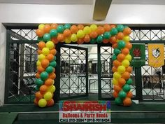 Company Anniversary, 25th Anniversary, Balloon Arch, Balloons, Store, Amazing, Globes, Larger, Balloon