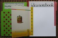 Inspiration journal: inside front tip-in