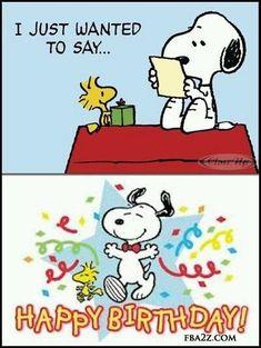 Birthday Quotes : happy birthday peanuts snoopy woodstock birthday greeting status for fb wall - The Love Quotes Happy Birthday Snoopy Images, Happy Birthday Meme, Happy Birthday Pictures, Birthday Wishes Cards, Happy Birthday Messages, Happy Birthday Greetings, Peanuts Happy Birthday, Snoopy Love, Snoopy Und Woodstock