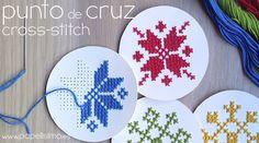 Cómo hacer punto de cruz (para principiantes) en Navidad | Aprender manualidades es facilisimo.com