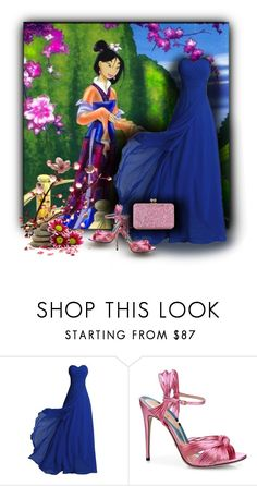 """""""Disney Princess Mulan"""" by sabine-713 ❤ liked on Polyvore featuring Gucci and Sophie Hulme"""