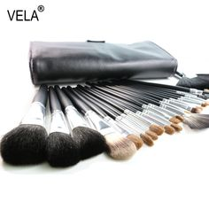 29.99$  Buy now - http://alipqj.shopchina.info/1/go.php?t=1370853742 - High Quality Full Function Makeup Brushes Set 23 Pieces Nature Hair Makeup Tools Kit With Case  #magazineonline