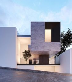 CREATO ARQUITECTOS is an international architectural firm founded by architect Javier Cuevas; his projects and designs are unique for its trends in innovation, luxury and exclusiveness, Designing contemporary modern mansions Modern Architecture House, Residential Architecture, Architecture Details, House Extension Design, House Front Design, Minimalist House Design, Modern Mansion, Dream House Exterior, Facade House