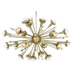 Robert Abbey Sputnik Chandelier ... love this and the Bling!