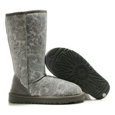 UGG Tall Classic 5852 Grey Boots