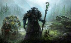 Worgen Warlock by ~yonaz on deviantART