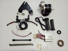24V 350W Electric bike Motor and other parts Kit Bicycle moidfy into electrical bike DIY Parts ALL IN ONE #Affiliate