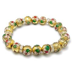 Gold, Green, Red & Light Pink Crystal Cloisonne Stretch B... https://www.amazon.com/dp/B008ABKC22/ref=cm_sw_r_pi_dp_x_8wLdzbW3W48HE