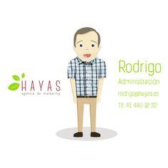 Rodrigo - Administración #equipo #hayas #madrid
