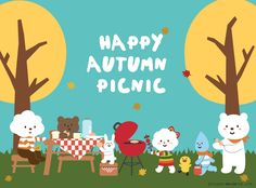 Autumn is the season for picnic! Do you want to join us? :D