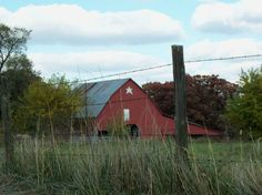 Barn in the Fall, Sarcoxie MO