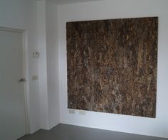 like a painting.. cork wall covering www.puurkurk.nl