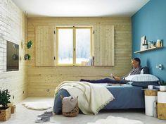 Idée Leroy Merlin : Comment isoler les murs sous un bardage intérieur ?