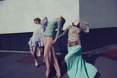 Obsessed with these photos by Alessio Bolzoni for Grey Magazine | Frances May | Blog