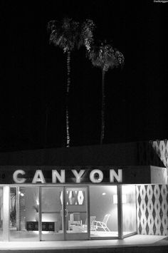 The Canyon: mid century modern... Back in time