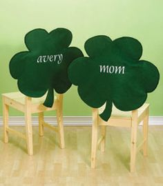 christmas chair back covers ireland swing size 131 best images crafts st patrick s day felt so easy