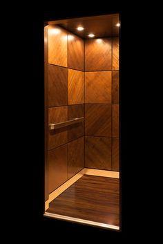 Walnut Cab Home Elevator