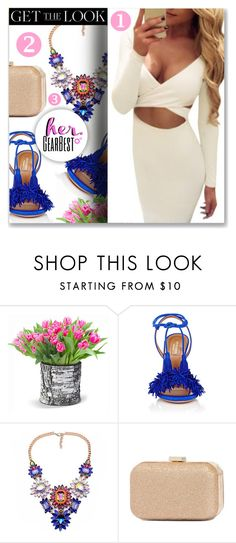 """""""Sexy Australian Chic"""" by dressedbyrose ❤ liked on Polyvore featuring Improvements and Aquazzura"""