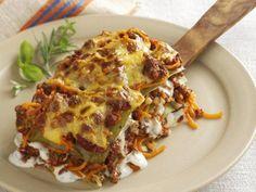 Hackfleisch-Lasagne mit Kürbis Rezept | EAT SMARTER