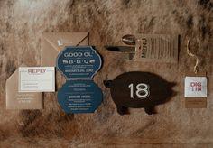 Oh So Beautiful Paper: Jo Allison + Eddie's BBQ Birthday Party Invitations