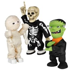 Gemmy Halloween Plastic Assorted Dancers Lighted Musical Tabletop Holiday Decoration  19.98 each