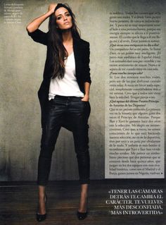Sara Carbonero w hiszpańskim ELLE