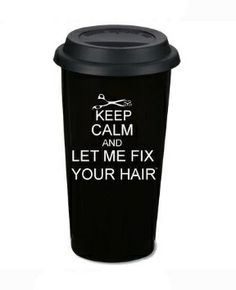 Everyone needs to go buy one of these for their #hair stylist ASAP! #coffee @Lauren Davison Davison Davison Davison Davison Davison Graham