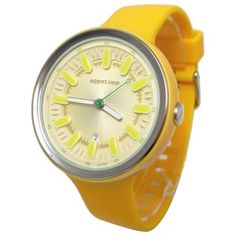 Reloj Appetime Pips Fruits Banana SVJ320045 con caja y pulsera de policarbonato color amarillo. #relojes #watches