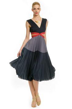 BCBGMAXAZRIA School Girl Gone Bad Dress - women's fashion / blue and grey clothing apparel (rent the runway) Bad Dresses, Rent Dresses, Dresses 2013, Dressy Dresses, Summer Dresses, Draped Dress, Dress Up, Flare Dress, Vogue