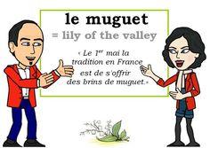 Le mot du jour : « muguet » [mygɛ]  #Expressionoftheday #learnfrench Tweets de Media par Les Machin (@Les_Machin)   Twitter